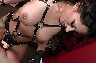Tangent femdom paddling and anal domination of male slave.  spanked   xxx porn