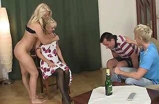 My GF gets involved into fucking her pussy with crazy parents.  xxx porn