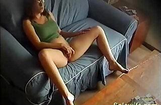 Shy wife masturbating.  voyeurism  ,  web cams   xxx porn