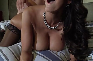Cheating sexy wife doggystyling in stockings.  xxx porn