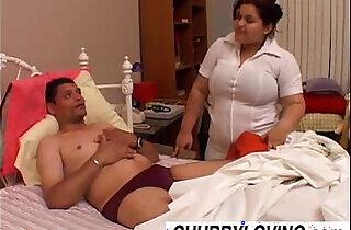 Bubbly big tits babe Karla is a naughty nurse.  xxx porn
