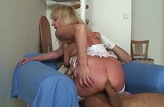 Bigcocked guy fucks blonde granny inlaw.  xxx porn