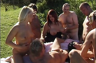 swingers gangbang orgy.  xxx porn