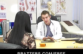Hot busty patient Anastasia Brill is fucked anally by her doctor.  xxx porn