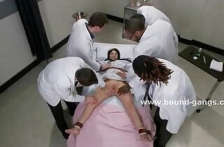 Doctor and patient brutal group sex.  xxx porn