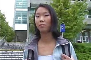 Asian school Girl Gets Fucked In A Car.  xxx porn