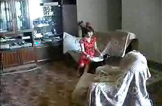 Mother undresses infront of son.  xxx porn