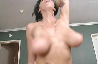 Nasty hot milf Alia Janine take dick in POV style.  xxx porn