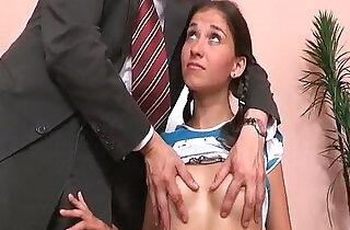 Adorable brunette amateur teen sucks and fucks teacher.  teen asian   xxx porn
