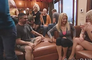 Hot swingers couples get ready for a wild night at this reality.  xxx porn