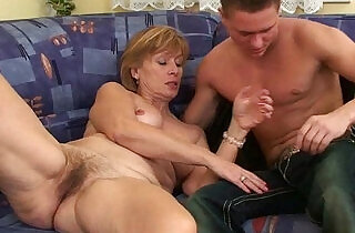 Nothing better that shooting your cum on moms body.  xxx porn