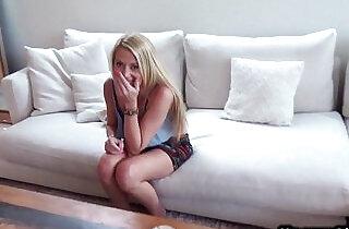 Blonde teen girl fucks boyfriend POV on homemade.  xxx porn