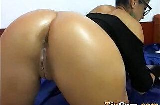 Amateur girl rides and fucks dildo webcam.  xxx porn