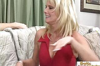 Stepmom makes a move on her tattooed stepson.  xxx porn