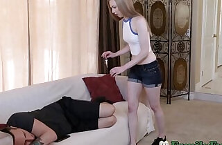 Naughty Sister Feels Brothers Cock Inside Her.  xxx porn