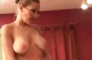 Mom tries to motivate her young lover.  xxx porn