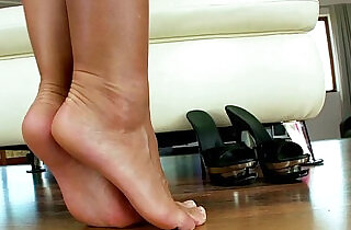 Foot fetish masturbating big titted babe love seat.  masturbating  ,  tits   xxx porn