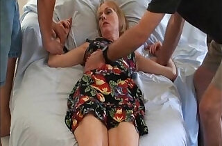 Son takes mom for a ride.  xxx porn