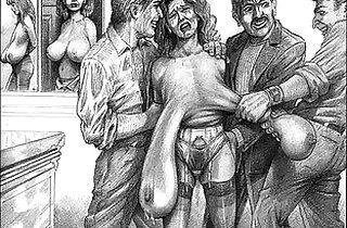 Classic Vintage Horror Artwork.  xxx porn