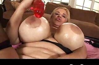 juggs tits milf solo on big dildo.  xxx porn